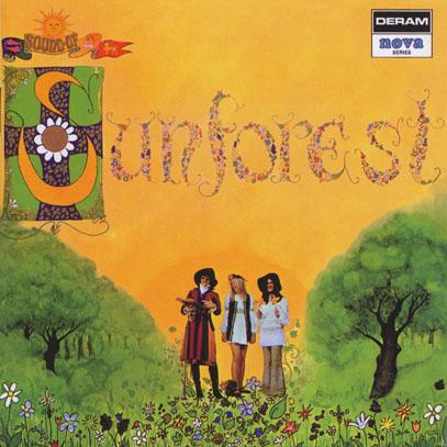SUNFOREST/Sounds Of Sunforest (1969/only) (サンフォレスト/UK)