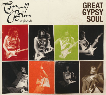 TOMMY BOLIN & FRIENDS/Great Gypsy Soul (2012) (トミー・ボーリン&フレンズ/USA)