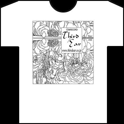 サード・イアー・TシャツB(白)/Third Ear T-Shirt Type B(White)