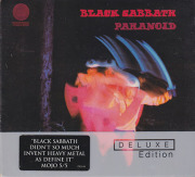 BLACK SABBATH/Paranoid: Deluxe Edition(Used 2CD+DVDA) (1970/2nd) (ブラック・サバス/UK)