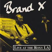 BRAND X/Live At The Roxy La(Used CD) (1979/Live) (ブランド X/UK)