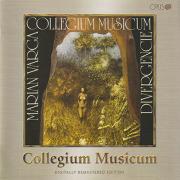 COLLEGIUM MUSICUM/Divergencie (1981/7th) (コレギウム・ムジカム/Czech-Slovak)