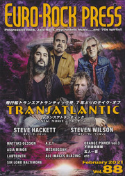 EURO-ROCK PRESS(ユーロ・ロック・プレス)/Vol.88 (2021/2月号/音楽雑誌)