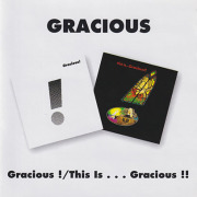 GRACIOUS/Gracious!+This Is...Gracious!!(Used 2CD) (1970+71/1+2th) (グレイシャス/UK)