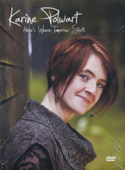 KARINE POLWART/Here's Where Tomorrow Starts (2011/DVD) (カリーネ・ポルワート/UK)