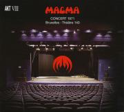 MAGMA/Concert 1971: Bruxelles - Theatre 140(2CD) (1971/Live) (マグマ/France)
