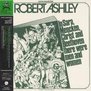 ROBERT ASHLEY/In Sara Mencken, Christ And Beethoven....(サラ、メンケン、キリスト....) (1974) (ロバート・アシュリー/USA,Italy)