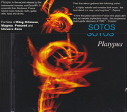 SOTOS/Platypus(Used CD) (2002/2nd) (ソトス/France)