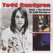 TODD RUNDGREN/Runt + Runt. The Ballad Of Todd Rundgren(Used 2CD) (1970-71/1+2th) (トッド・ラングレン/USA)