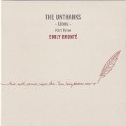 THE UNTHANKS/Lines: Part Three-Emily Bronte (2018/8th-1/3) (ジ・オンタンクス/UK)
