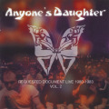 ANYONE'S DAUGHTER/Requested Document Live Vol.2(Used CD+DVD) (1980-83/Live) (エニワンズ・ドーター/German)