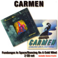 CARMEN/Fandangos In Space + Dancing On A Cold Wind (1973+74/1+2th) (カルメン/UK,USA)