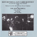 DON RENDELL/IAN CARR QUINTET/Live From The Antibes Jazz Festival(Used CD) (ドン・レンデル/イアン・カー・クィンテット/UK)