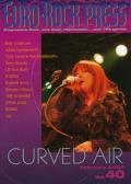 EURO-ROCK PRESS(ユーロ・ロック・プレス)/Vol.40 (2009/2月号/音楽雑誌)