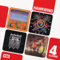 HAWKWIND/4 Albums: 4CD Box Set(Used CD) (1970-74/1+2+3+5th) (ホークウインド/UK)