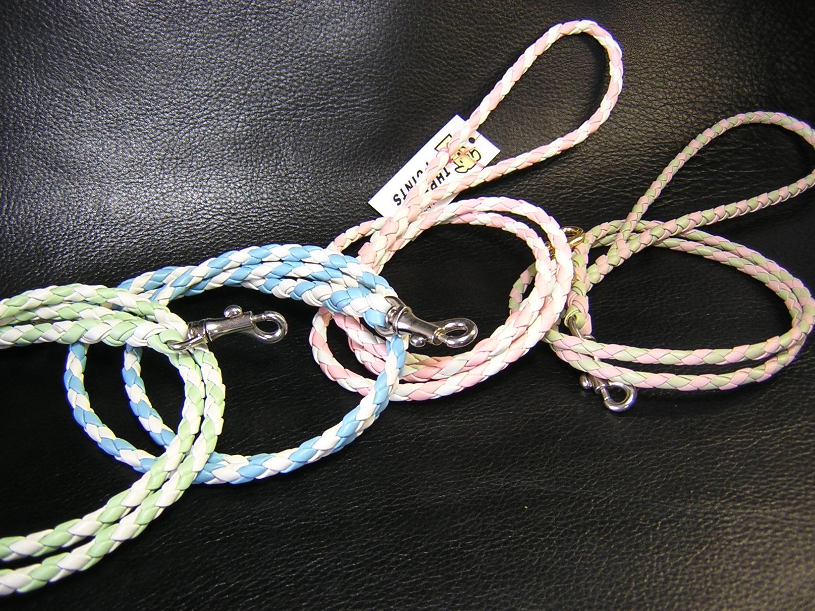 4つ編み丸リード 小型犬用