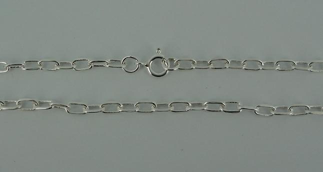 Silver Chain(シルバーチェーン) 6mm Oval Chain(6mmオーバルチェーン)