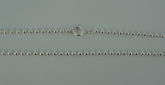Silver Chain(シルバーチェーン) 2,2mm Ball Chain(2,2mmボールチェーン)
