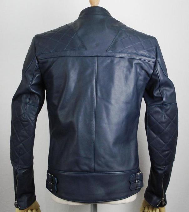 正規取扱店Lewis Leather(ルイスレザー) No.445 SUPER MONZA(スーパーモンザ) ダークブルー