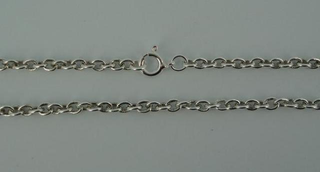 Silver Chain(シルバーチェーン) 4mm Oval Chain(4mmオーバルチェーン)