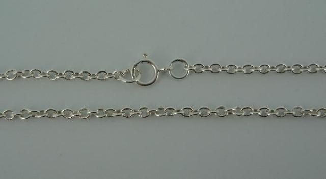 Silver Chain(シルバーチェーン) 1,8mm Tiny Chain(1,8mm タイニーチェーン)