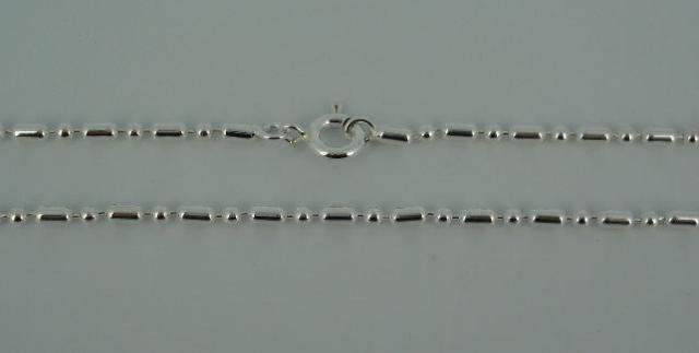 Silver Chain(シルバーチェーン) 1,8mm Ball & 4mm Oval chain(1,8mmボール&4mmオーバルチェーン)