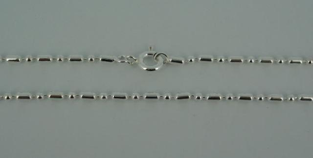 Silver Chain(シルバーチェーン) 1,8mm Ball & 4mm Oval chain(1,8mmボール&4mmオーバルチェーン)