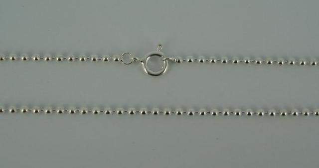 Silver Chain(シルバーチェーン) 1,8mm Ball Chain(1,8mm ボールチェーン)