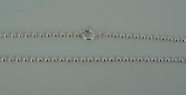 Silver Chain(シルバーチェーン) 2,2mm Ball Chain(2,2mmボールチェーン)