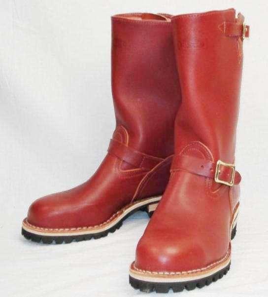 正規ディーラー Wescoウエスコ  Boss ボス Redwoodレッドウッド,11height,#100 sole,Steel Toe,エンジニアブーツ