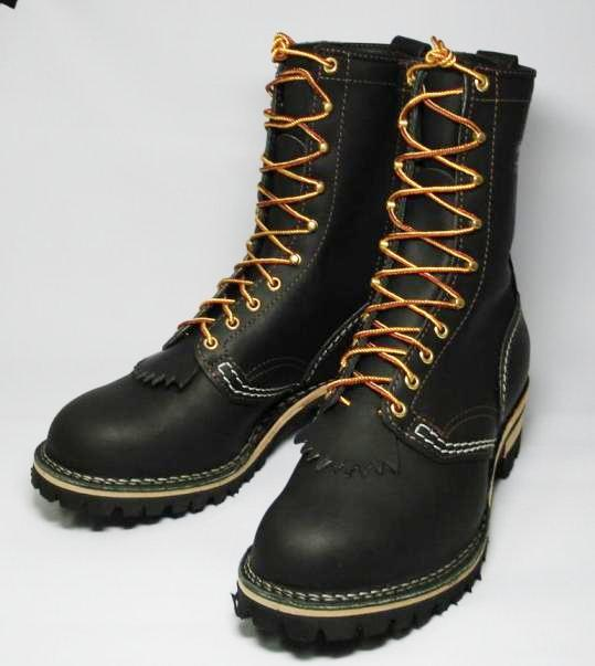 Wescoウエスコ 正規ディーラー Jobmasterジョブマスター Black, Regular Toe, 10height,#100 sole