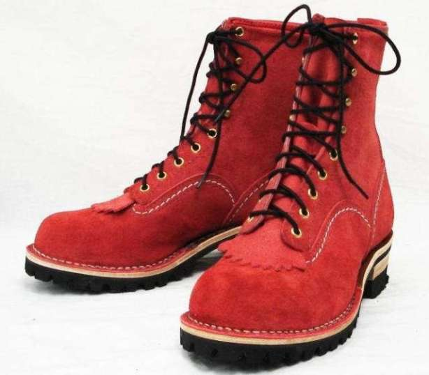 正規ディーラー Wescoウエスコ Jobmasterジョブマスター Red Leather All Rough Out,Semi Lace to Toe, 8height,#100sole