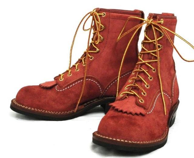 Wescoウエスコ 正規ディーラー Jobmasterジョブマスター Red Wood レッドウッド, Semi Lace to Toe, 8height, #430 sole JM09