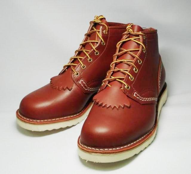 Wescoウエスコ 正規ディーラー Jobmasterジョブマスター RedWood, Regular Toe, 6height,#1010 sole