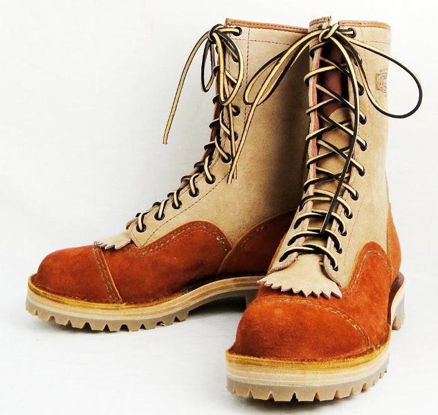 正規ディーラー Wescoウエスコ Jobmasterジョブマスター Redwood Burlap ラフアウト,Leather Lining,10height,Double Mid Sole,#132sole