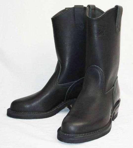 Wescoウエスコ 正規ディーラー WesternBoss ウエスタンボス Black,10height,#430 sole,ウエスタンブーツ