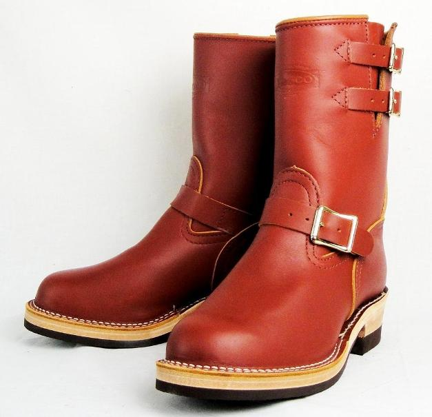 Wescoウエスコ 正規  Boss Red Wood All レッドウッド,9height,#705,Buckskin Leather Lining,2Straps,Double Mid Sole Legs Smaller