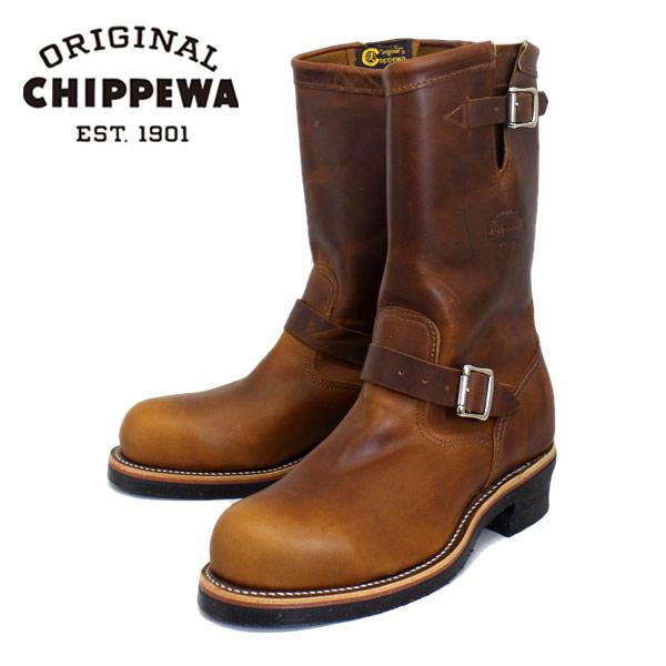 正規取扱店 CHIPPEWA チペワ 1901M05 11inch STEEL TOE ENGINEER BOOTS 11インチ スチールトゥ エンジニアブーツ TAN RENEGADE