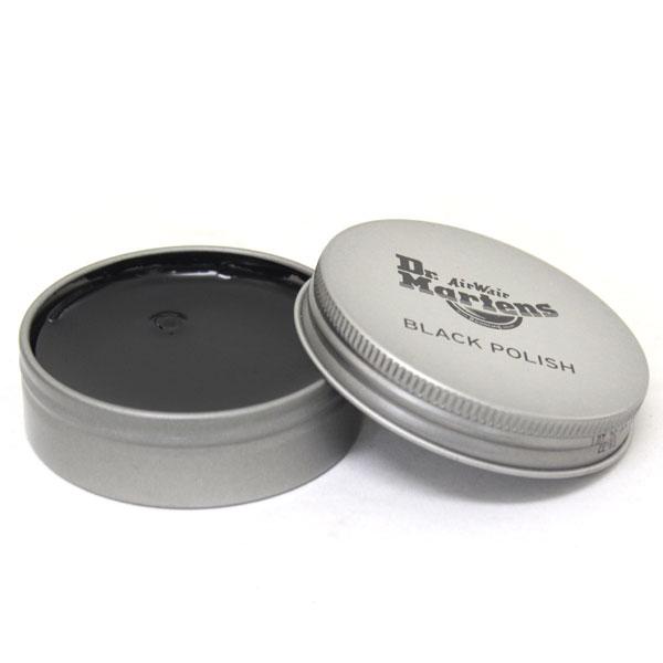 正規代理店 Dr.Martens ドクターマーチン BLACK POLISH ブラックポリッシュ ブラックレザー用