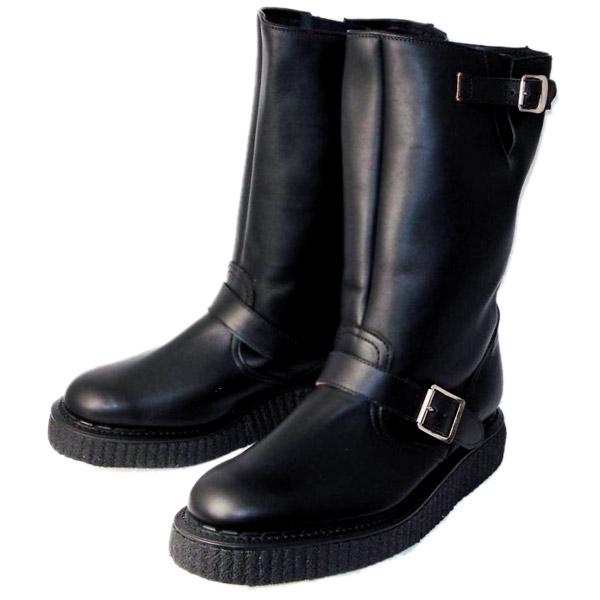 正規取扱店 666 George Coxジョージコックス No,5 Creeper Sole Engineer Boots クリーパーソールエンジニアブーツ  666ダブルネーム