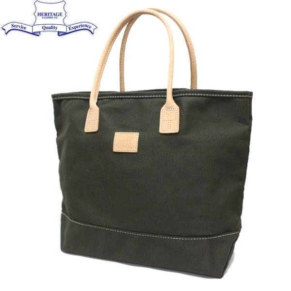 正規取扱店 HERITAGE LEATHER CO.(ヘリテージレザー) NO.7717 Tote Bag(トートバッグ) Olive/Olive HL021