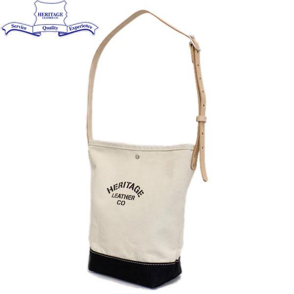 正規取扱店 HERITAGE LEATHER CO.(ヘリテージレザー) NO.8105 Mason Bag(メイソンバッグ) Natural/Black HL093