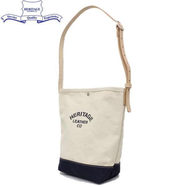 正規取扱店 HERITAGE LEATHER CO.(ヘリテージレザー) NO.8105 Mason Bag(メイソンバッグ) Natural/Navy HL095