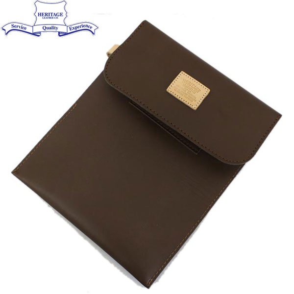 正規取扱店 HERITAGE LEATHER CO.(ヘリテージレザー) NO.8100 Mason Bag(メイソンバッグ) Moccasin Brown HL096