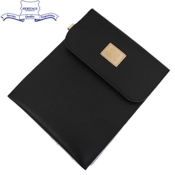 正規取扱店 HERITAGE LEATHER CO.(ヘリテージレザー) NO.8100 Mason Bag(メイソンバッグ) Moccasin Black HL097