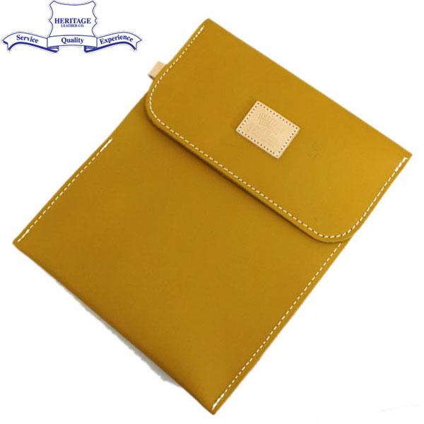 正規取扱店 HERITAGE LEATHER CO.(ヘリテージレザー) NO.8100 Mason Bag(メイソンバッグ) Moccasin Yellow HL098