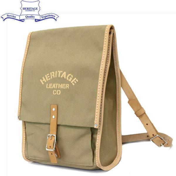 正規取扱店 HERITAGE LEATHER CO.(ヘリテージレザー) NO.8102 Mason Bag(メイソンバッグ) Tan HL101