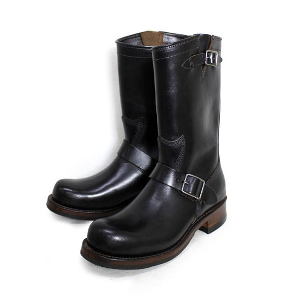 正規取扱 HTC(Hollywood Trading Company) SANTA ROSA(サンタローサ) #OAKLAND ENGINEER BOOTS(エンジニアブーツ) BLACK ブラック