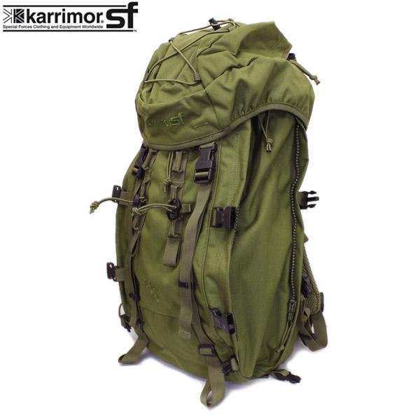 正規取扱店 karrimor SF(カリマースペシャルフォース) SABER 45(セイバー45 リュックサック) OLIVE KM030