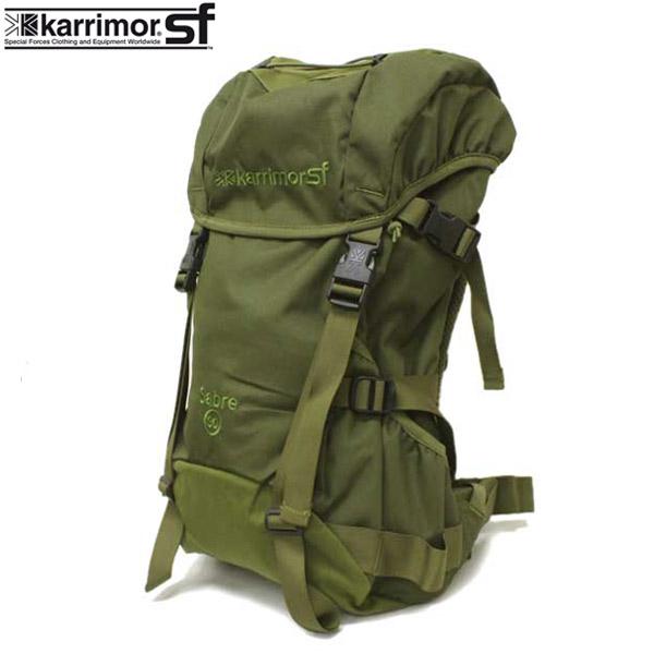 正規取扱店 karrimor SF(カリマースペシャルフォース) SABER 30(セイバー30 リュックサック) OLIVE KM006